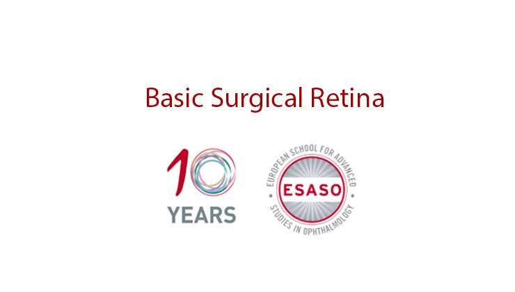 esaso basic surgical retina