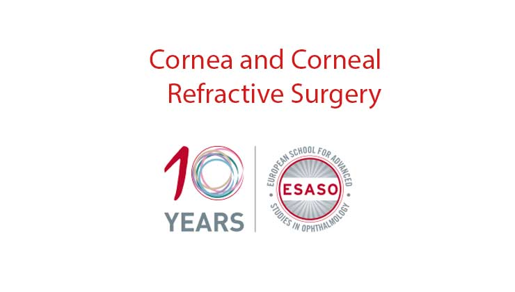 Esaso Cornea and Corneal Refractive Surgery