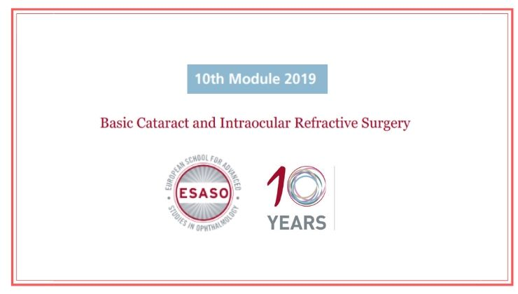 Basic Cataract and Intraocular Refractive Surgery