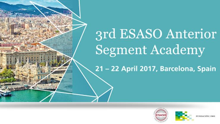 ESASO 3rd Anterior Segment Academy