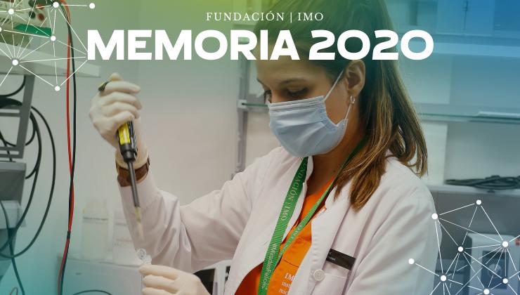 Memoria 2020 de Fundación IMO