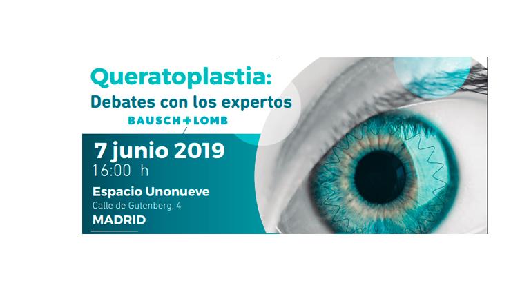Queratoplastia: debate con los expertos