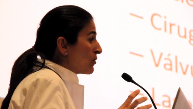 """Dra. Arrondo en la ponencia """"Diagnóstico precoz del glaucoma"""""""