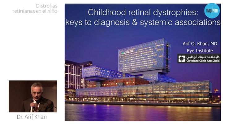 Imagen ponencia distrofias retinianas en el niño