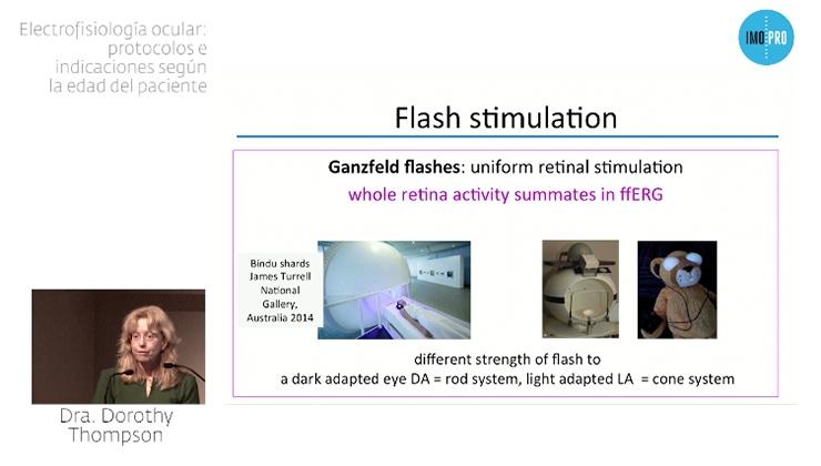 imagen ponencia electrofisiología ocular