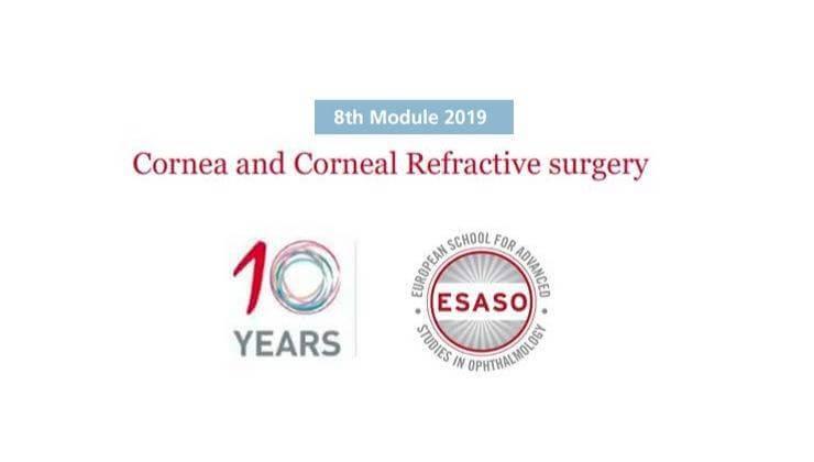 ESASO Cornea and Corneal Surgery 2019