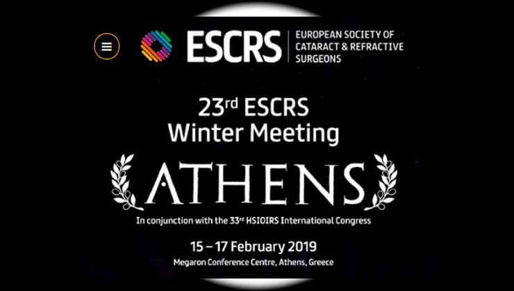 escrs winter meeting athenes