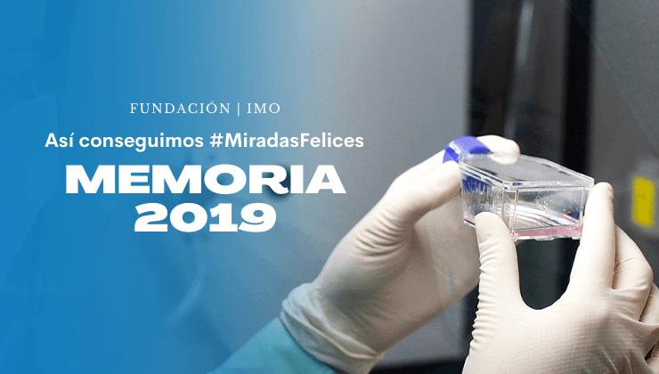 Memoria 2019 de Fundación IMO