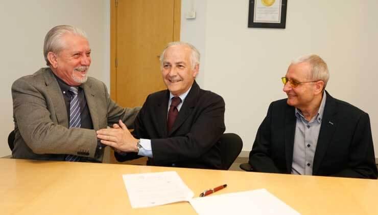 Firma acuerdo IMO, FARPE y FUNDALUCE