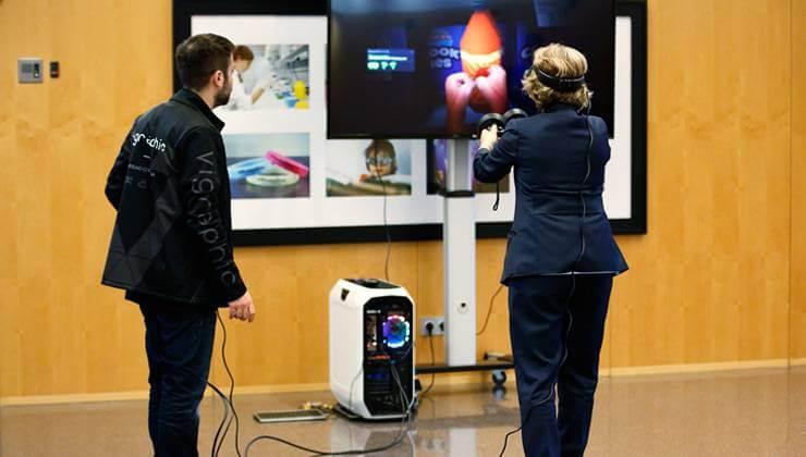 Semana Mundial del Glaucoma - realidad virtual