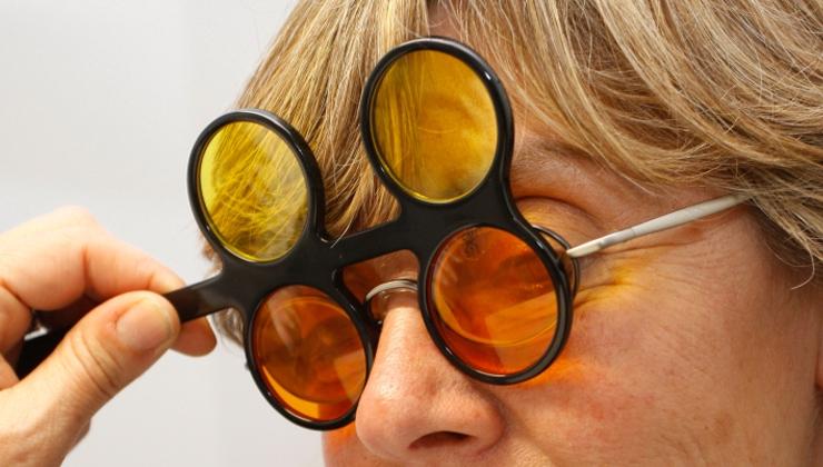 Paciente con baja visión