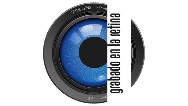 grabado en la retina