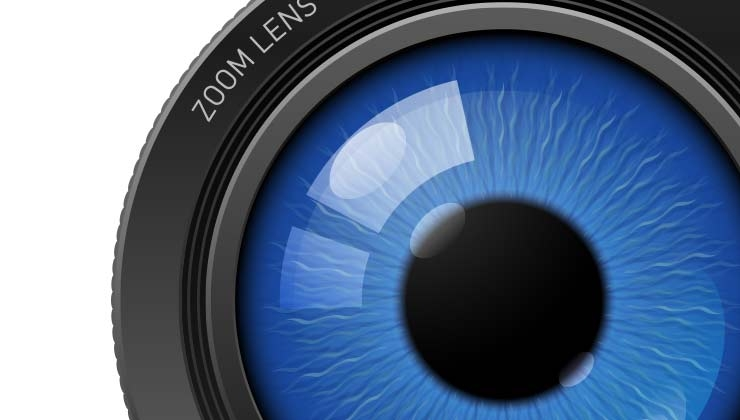 imagen grabado en la retina
