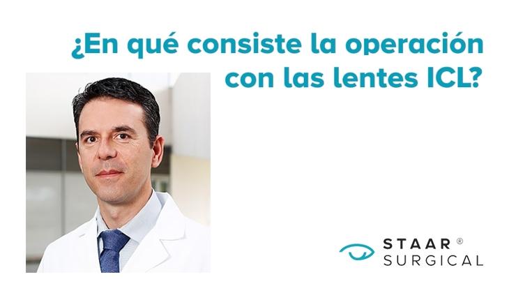 Cirurgia refractiva amb lents ICL
