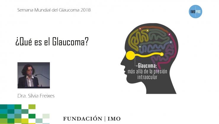 imagen presencación Dra. Freixes Semana Mundial del Glaucoma