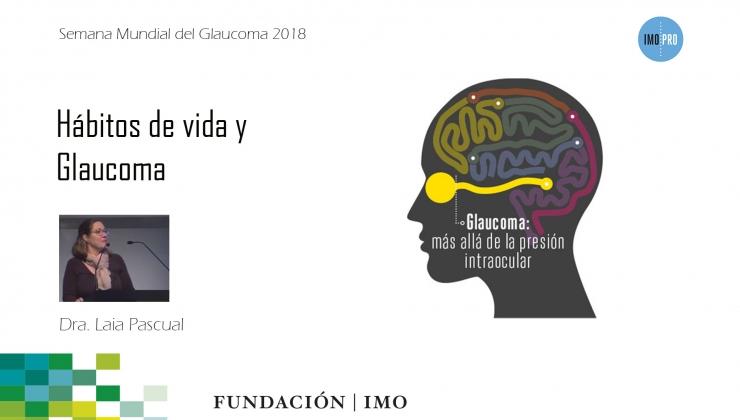 imagen presencación Dra. Pascual Semana Mundial del Glaucoma