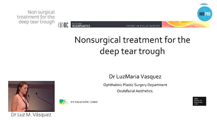 Non surgical treatment for the deep tear trough