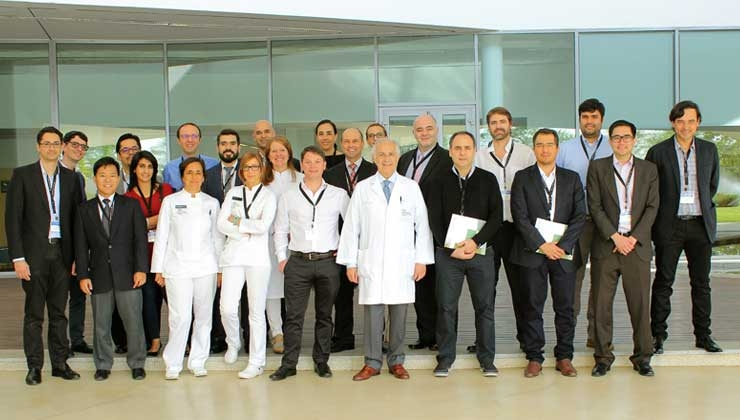 Asistentes Preceptorship junto al equipo IMO