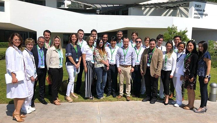 Participantes Preceptorship Novartis Colombia