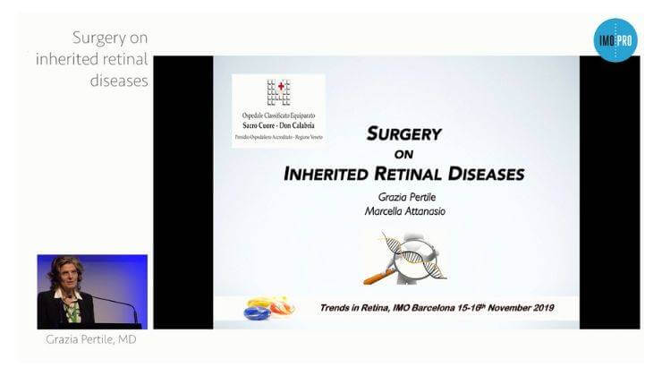 Surgery on inherited retinal diseases