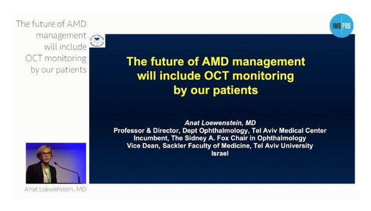 The future of AMD management will include OCT monitoring by our patients