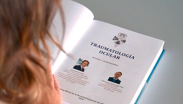 libro traumatología ocular arumí