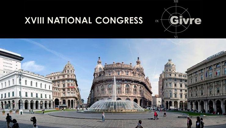 XVIII Congresso Nazionale Givre