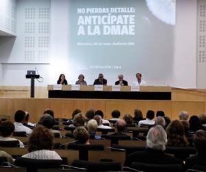 En la Conferencia de la DMAE.