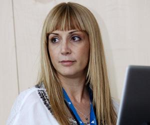 Laura González, óptica optometrista del IMO