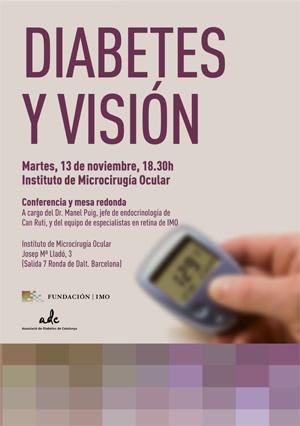 Conferencia Diabetes y Visión